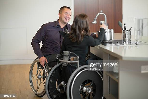 Disabled Couple