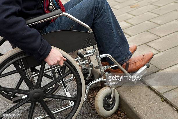 Disabled man in wheelchair needs help, fatality