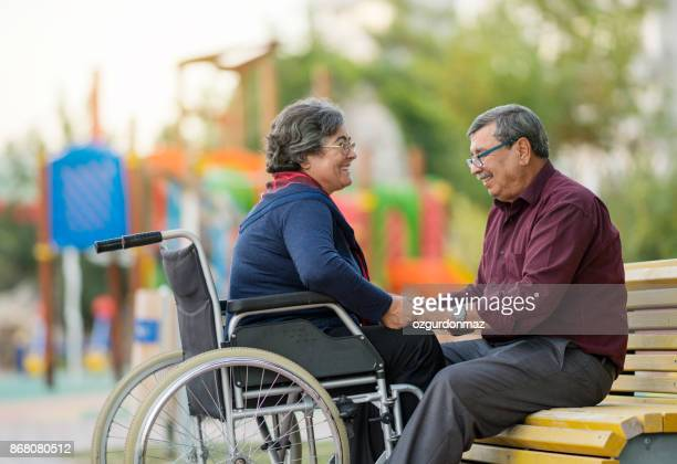 Disabled Senior Couple