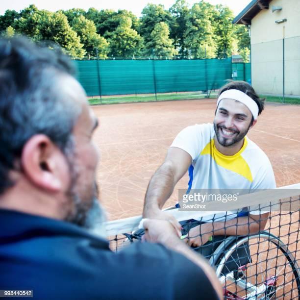 Barrierefreie Tennis Player