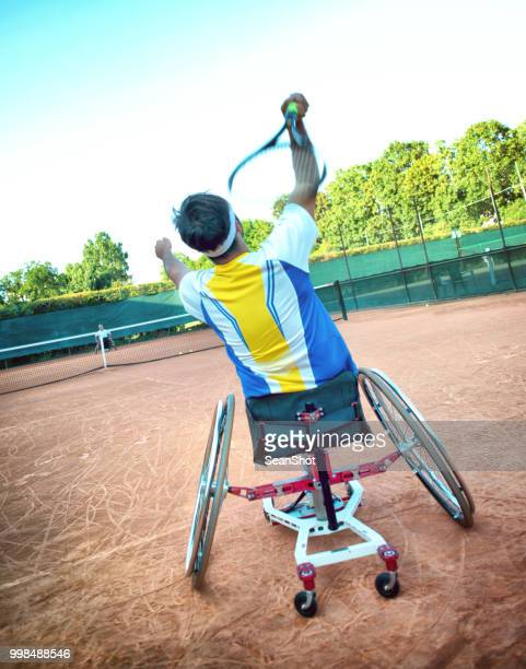 Disabled Tennis Player