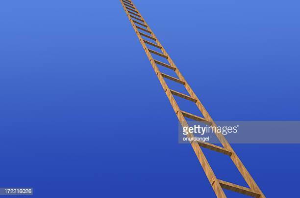 Disappearing ladder
