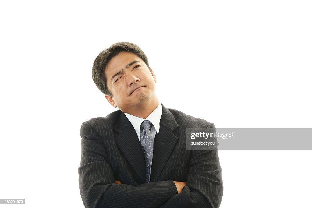 がっかりのビジネスマン : ストックフォト