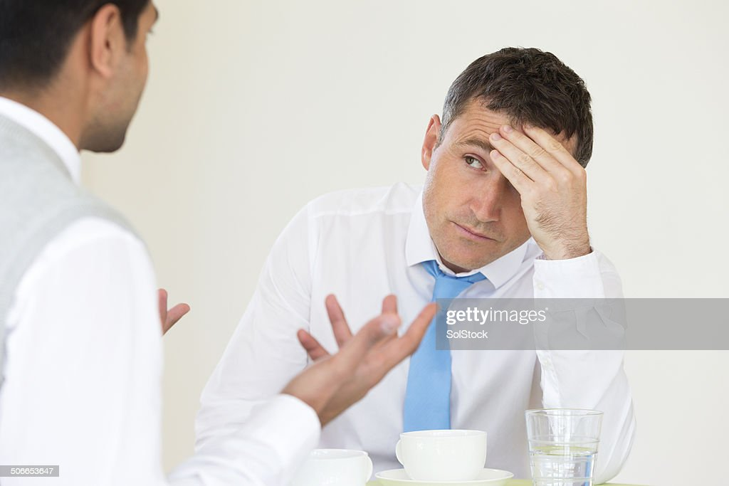Disappointed Businessman : Stock Photo