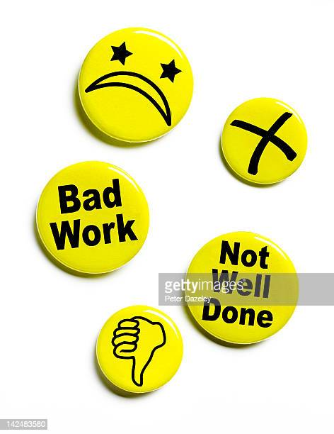 Disapproving button badges