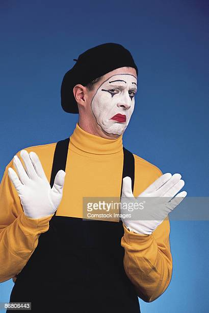 Disapproving mime