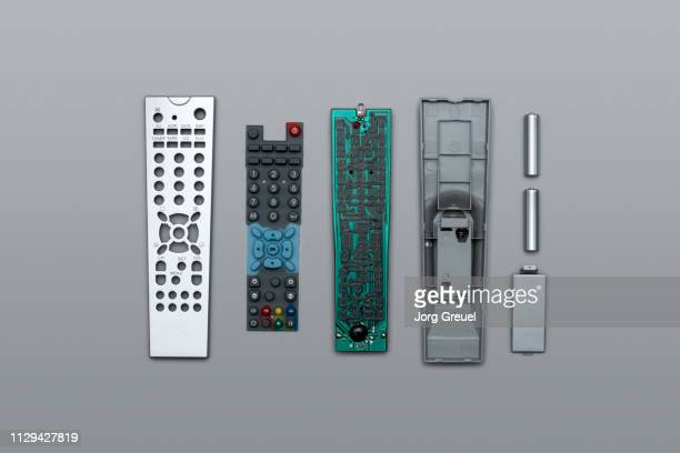 disassembled remote control - dismantling stock pictures, royalty-free photos & images