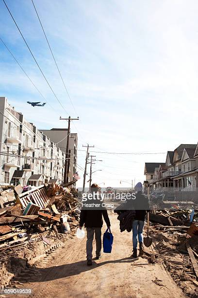 disaster and insurance themes - natural disaster stock pictures, royalty-free photos & images