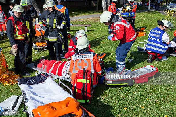 Disaster management exercise, mass-casualty incident