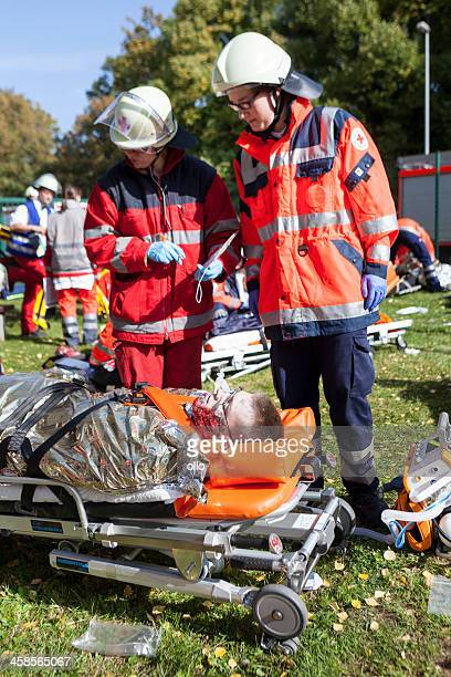 障害管理エクササイズ、大量死傷者の事件