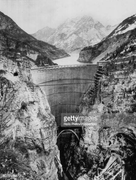 Before After 1963 Bi Level Remodeling In Boulder: Circa 1962, The Massive Vajont Dam In Northern Italy, On