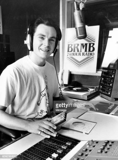 Disc Jockey Graham Torrington who is sitting in for Breakfast Show host Les Ross during his twoweek holiday 22nd September 1988