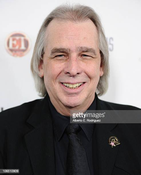 Disc jockey Jim Ladd arrives to the Hollywood Walk of Fame's 50th Anniversary Celebration on November 3 2010 in Hollywood California