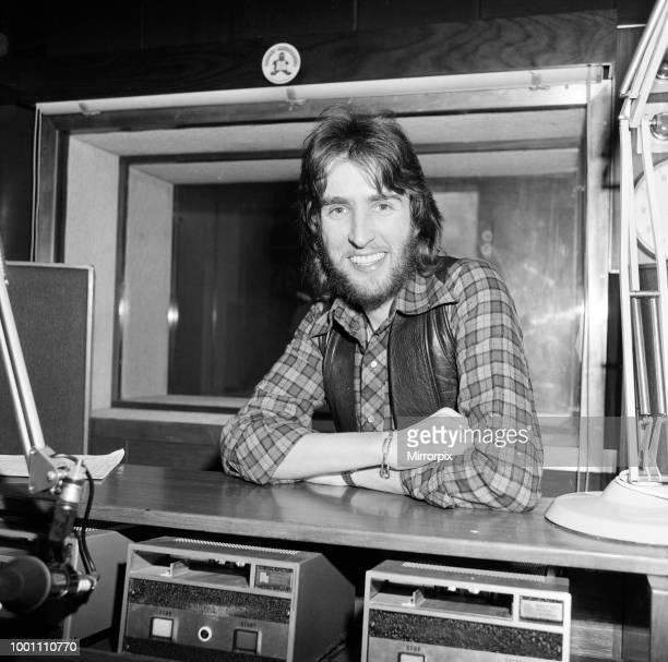 Disc Jockey Johnnie Walker, 15th January 1976.