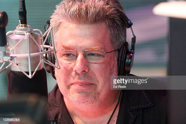 Disc Jockey Mojo Nixon visits the SIRIUS XM Studio during the Americana Music Festival on September 10 2010 in Nashville Tennessee
