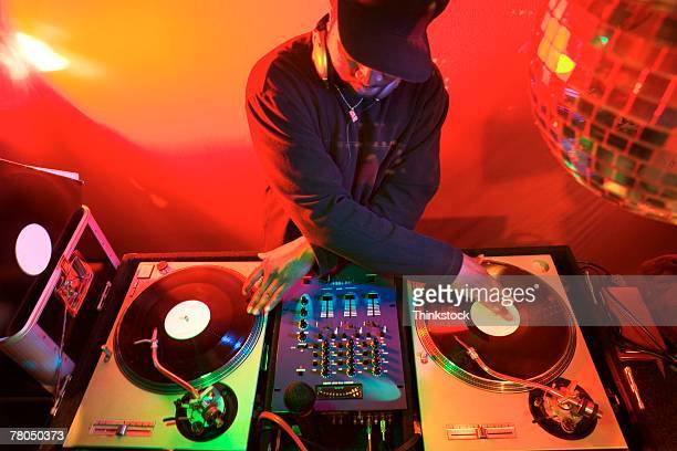 disc jockey - hip hop music stock pictures, royalty-free photos & images
