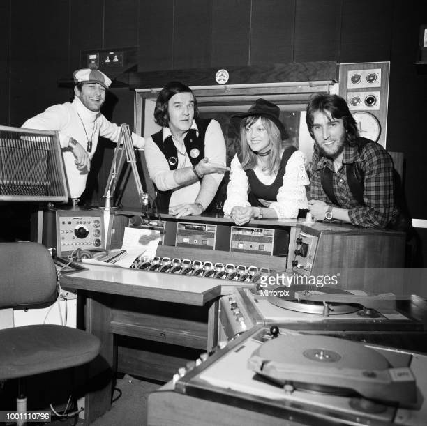 BBC Disc Jockey's Emperor Rosko Alan Freeman Annie Nightingale and Johnnie Walker 15th January 1976