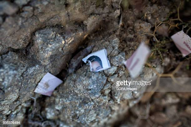 Discarded photographs and other documents discarded by asylumseekers littered the shore In 2015 more than a million immigrants arrived in Europe by...