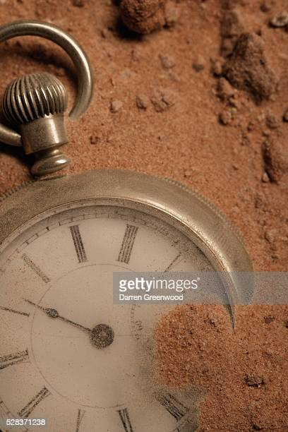 Discarded pocket watch