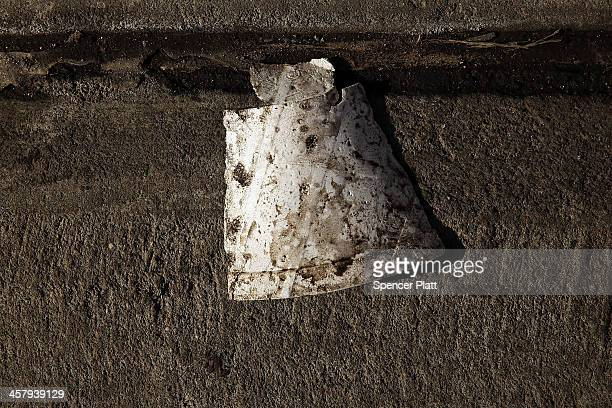 A discarded styrofoam cup is viewed on the street on December 19 2013 in New York City New York's City Council will vote Thursday on a bill that...