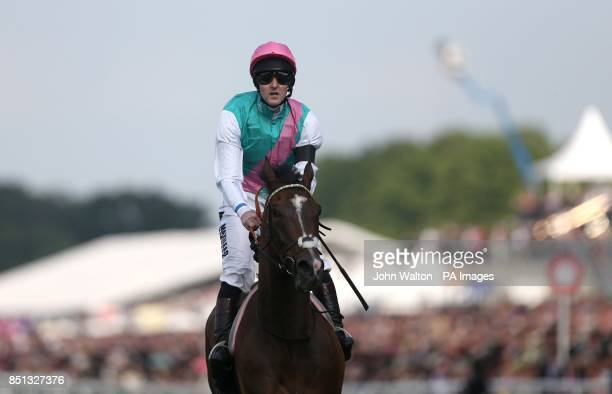 Disclaimer ridden by Tom queally after The Queen's Vase In Memory Of Sir Henry Cecil during day four of the Royal Ascot meeting at Ascot Racecourse...