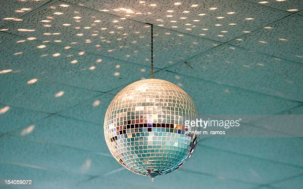 disco ball at a skating rink - mirror ball stock pictures, royalty-free photos & images