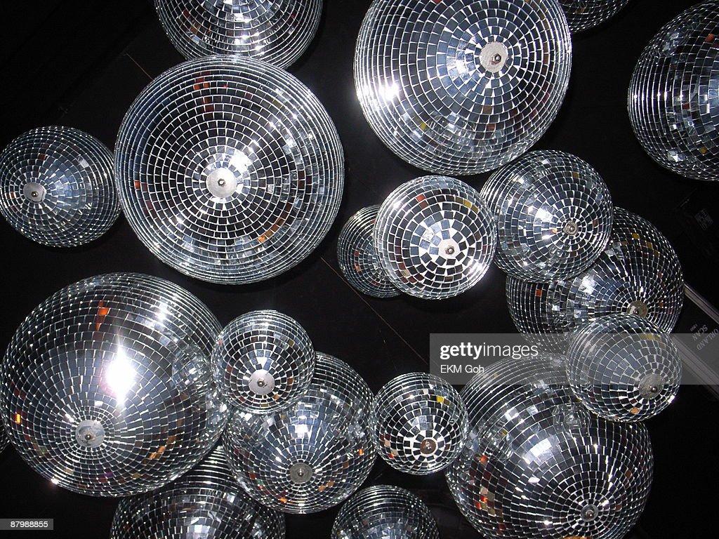 Disco ball chandelier : Stock Photo