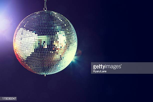 disco ball - dancing stockfoto's en -beelden