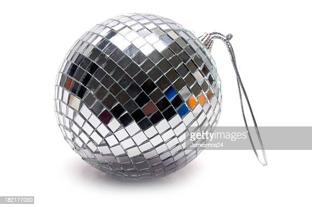 Disco ball with key chain loop