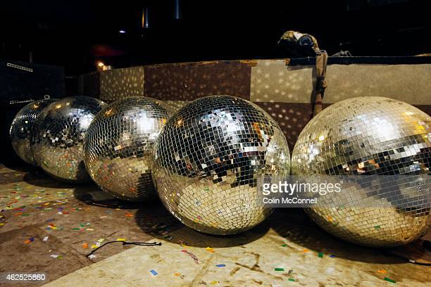 Disco balls are ready to go GuvernmentKool Haus nightclub complex is being dismantled piece by piece as people are in the establishment taking out...