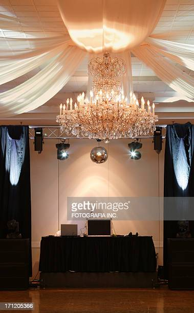 disco booth - banquet hall stock pictures, royalty-free photos & images
