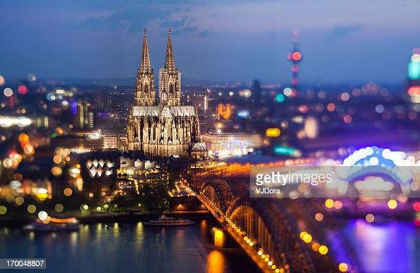 Disco Cologne (after sunset)
