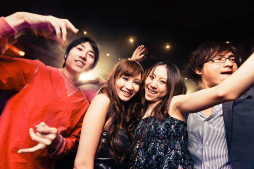 Disco Dance Japanese Night Club Party - gettyimageskorea