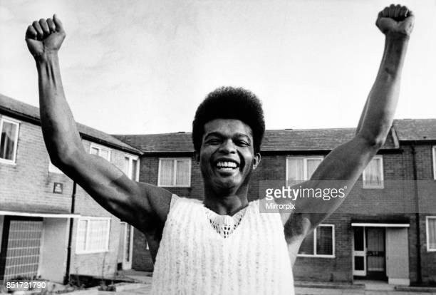 Disco dancer and cross the ball winner Albert Harding, 4th March 1983.