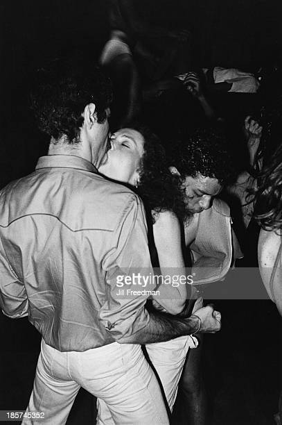 Disco dancing at a nightclub in Midtown Manhattan New York City 1979