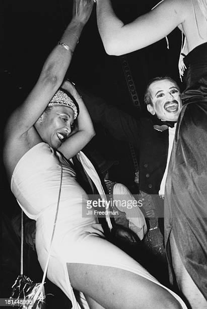 Disco dancing in Midtown Manhattan, New York City, 1977.