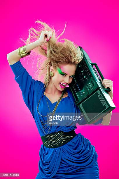 Disco Girl with Boombox