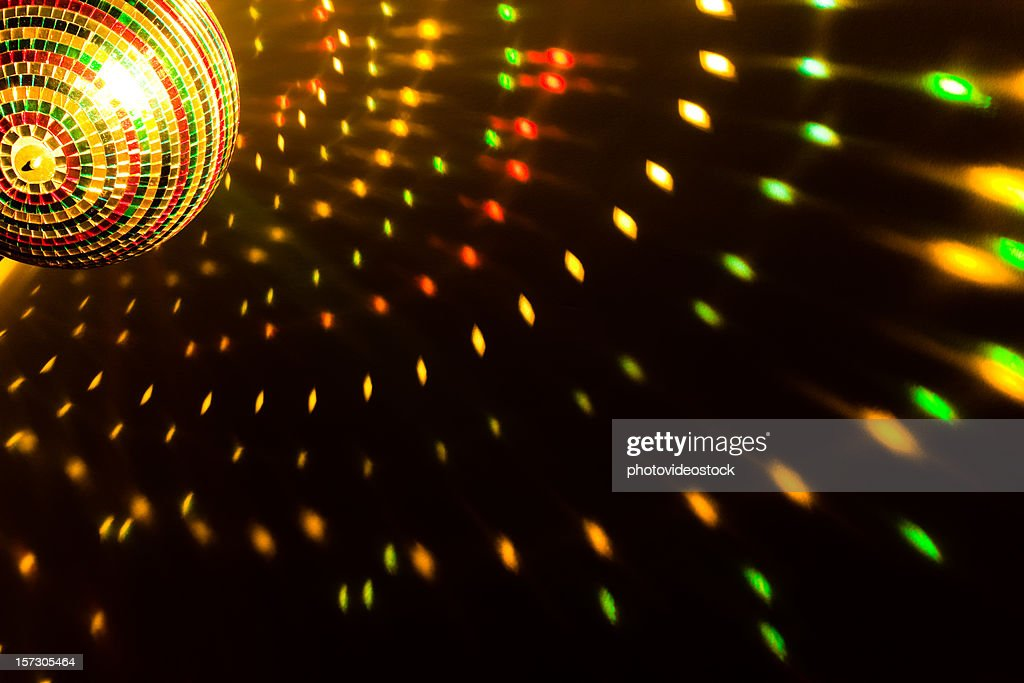 Disco lights background : Stock Photo