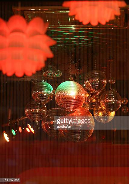 disco - mirror balls - soul music stock pictures, royalty-free photos & images
