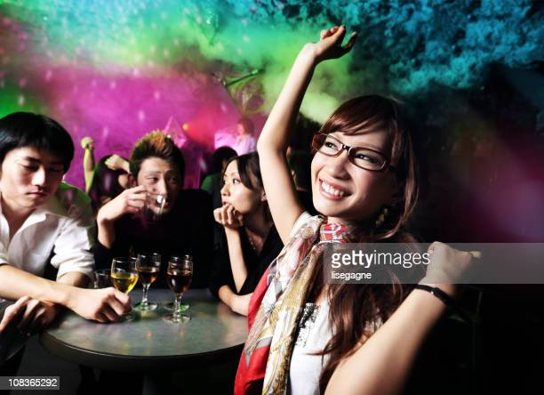ディスコ東京のナイトクラブ