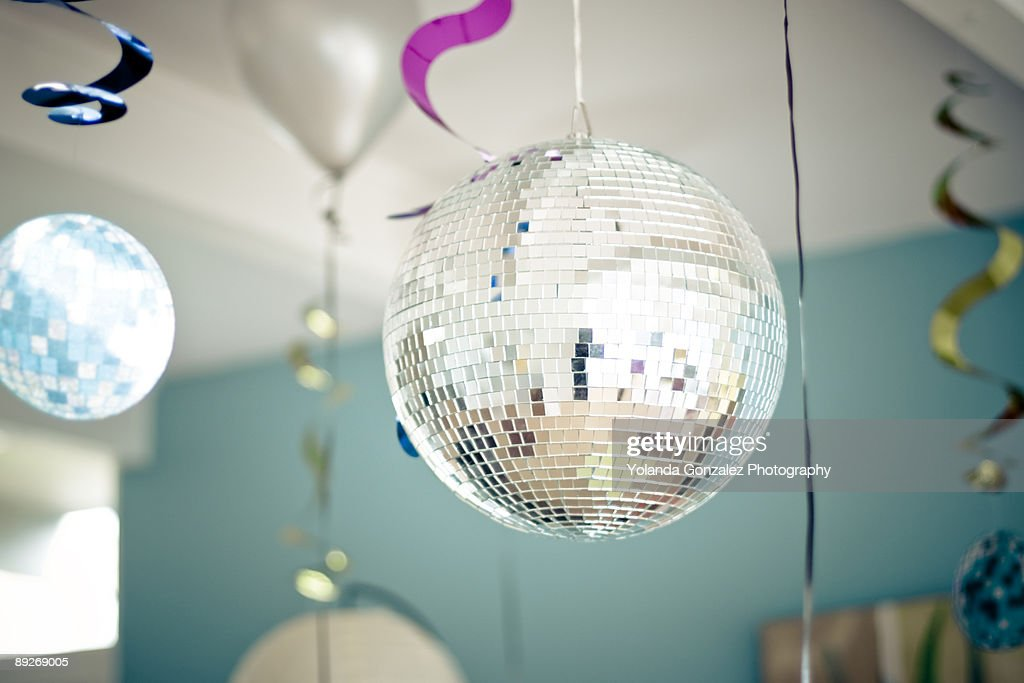 Disco Party Decorations : Stock Photo