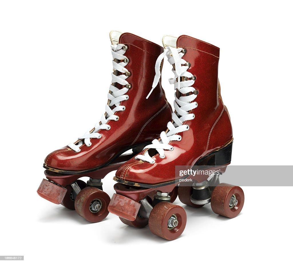 Disco roller skates : Stock Photo
