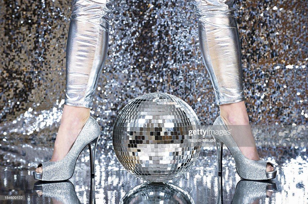 Disco time : Stock Photo