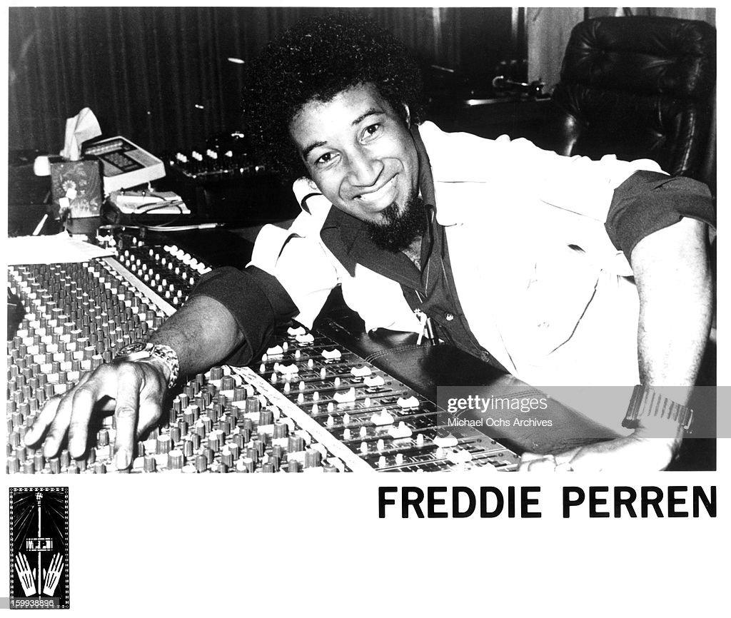 Freddie Perren Portrait : News Photo