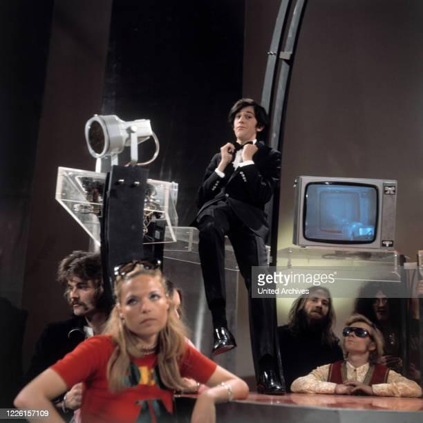 Disco - ZDF Musiksendung ILJA RICHTER präsentiert die ZDF Musikshow: disco, 1971.
