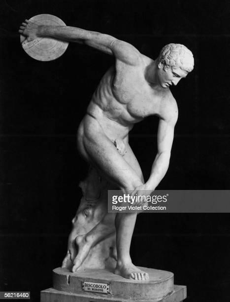 Discobolus by Myron Rome Vatican museum