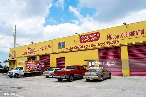 Réduction cubain de l'entrepôt dans-Hialeah, en Floride