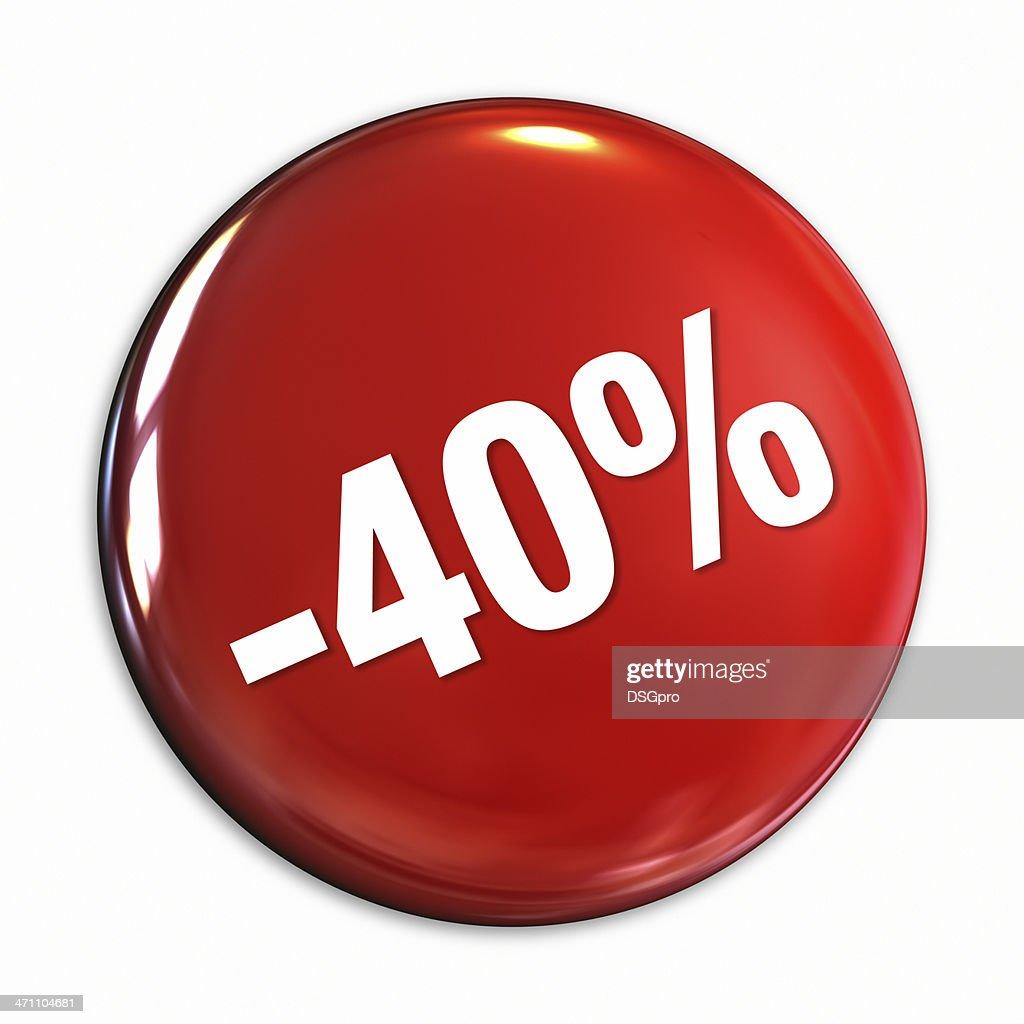 Discount Series badge : Stock Photo