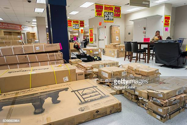 Discounted merchandise at the soon to be closing Sears store in the New York borough of the Bronx. Sears Holdings announced that third-quarter...