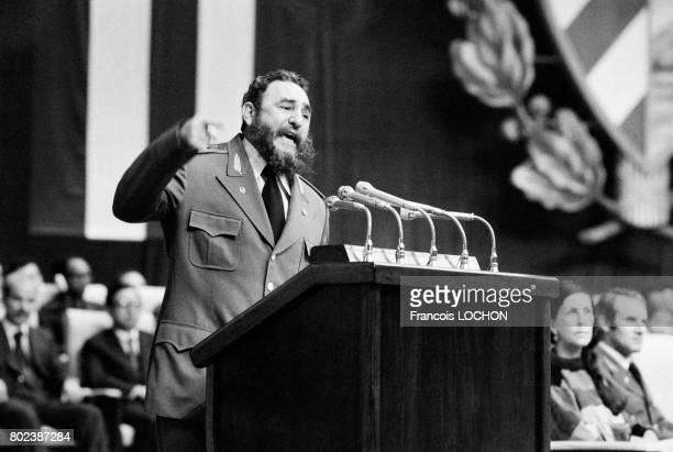 Discours de Fidel Castro lors du 20e anniversaire de la Révolution le 2 janvier 1979 à La Havane Cuba